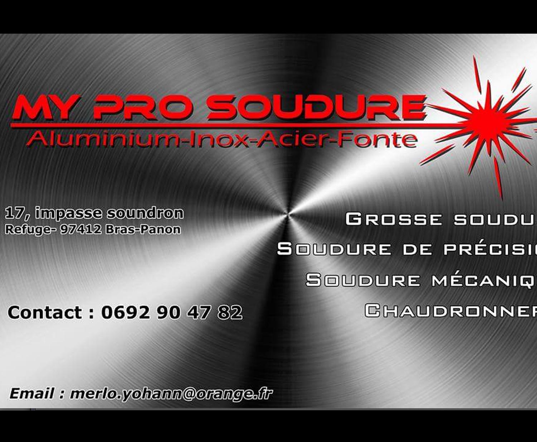 PRO SOUDURE – Yohann MERLOT – Métallerie
