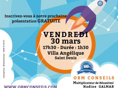 30 mars : ATELIER GRATUIT | Saint Denis